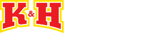 K&H Distributing Fireworks Logo